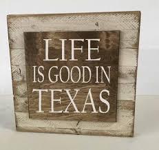 texas home wood sign wall decor