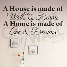 Home Is Quotes by Quotes U0026 Words Wall Stickers