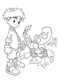 digimon coloring pages for kids printable free coloring pages