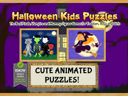 halloween kids puzzles pirate vampire and mummy games for