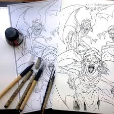 behind the book the percy jackson coloring book by keith robinson