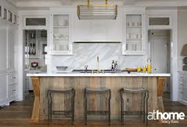 white kitchen wood island salvaged wood kitchen island contemporary kitchen at home in