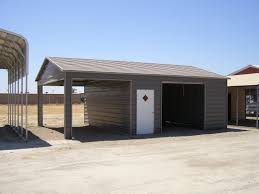 House With Carport Dennis Smith Barns