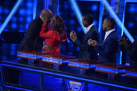 steve harvey s family to on family feud