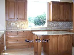 Kitchen Backsplash Installation Cost Ceramic Tile Backsplash Ohfudge Info