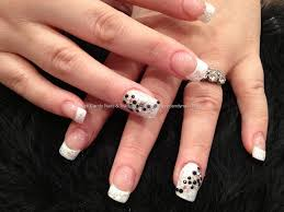 nail art white tips choice image nail art designs