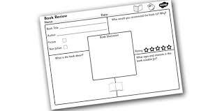 printable book template ks2 book review worksheet tire driveeasy co