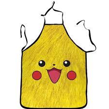 cuisine dessin animé tablier de cuisine avec motif dessin animé pokémon pikachu 72 54