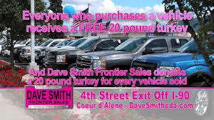 dave smith frontier sales thanksgiving tv ad
