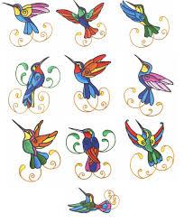 colourful hummingbirds by glenn harris out a41 epb544 7 50