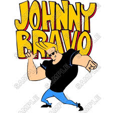 johnny bravo personalized iron on transfers johnny bravo iron ons
