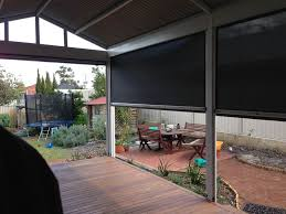 Perth Patios Prices Ziptrak Blinds Perth Ziptrak Outdoor Screens A U0026a