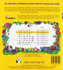 buy jolly phonics workbooks 1 7 book online at low prices in