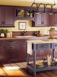 Yellow Kitchen Cabinets - kitchen cabinet wood choices dark wood cabinets dark wood and