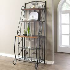 Metal And Wood Bakers Rack Best 25 Transitional Bakers Racks Ideas On Pinterest Kitchen