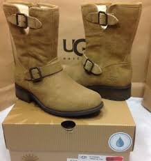 s ugg australia chaney boots ugg australia chaney chestnut silkee suede water resistant boots