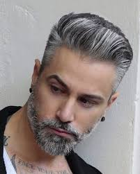 hairstyles for men in their twenties with grey hair 128 best hairstyles for over 40s silver fox s images on pinterest