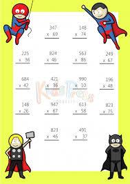 3 digit by 2 digit multiplication worksheet 1