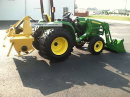 2012 john deere compact utility tractor 3038e 305 loader 5 ft