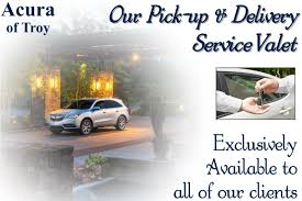 service valet acura of troy