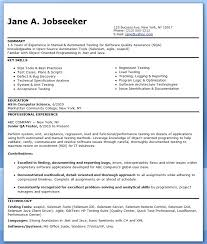 Occupational Therapist Resume Template Sample Resume For Entry Level Classy Design Ideas Tester Resume