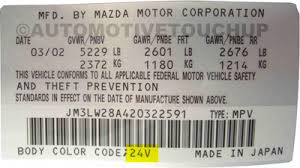 paint code mazda paint code locations touch up paint automotivetouchup