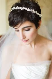 new bridal hairstyle noiva de tiara e cabelo curto haircut pinterest soft bridal