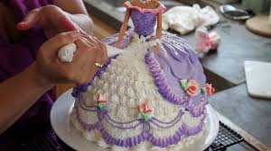barbie doll cake cake decorating princess cake youtube