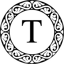 monogram letter t letter t letter t monogram clip t ɨs ʄօʀ taʀa