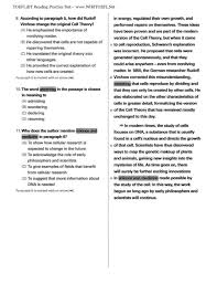 map reading practice toefl ibt reading practice test 04