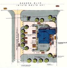 site plan design planning your site planning your floor space bank remodeling