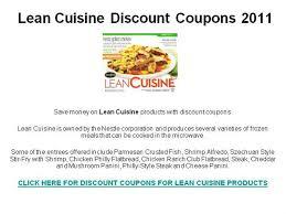 lean cuisine coupons lean cuisine coupons printable 2018 gymboree outlet black friday