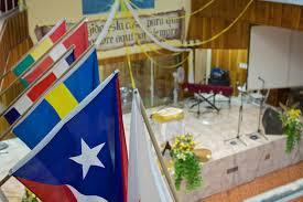 Church Flags Tenacious Faith World Next Door
