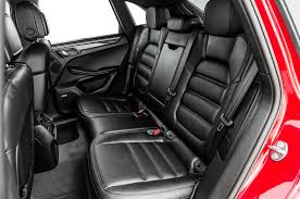 porsche macan red interior 2017 porsche macan turbo with performance package first test more