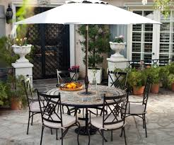 Large Umbrella For Patio Peaceably Patio Table As Wells As Umbrella Patio Furniture Table