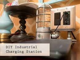 Diy Nightstand Charging Station Diy Industrial Usb Charging Station Pretty Handy
