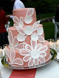 Lace Cake Decorating Techniques How To Make This Fondant Lace Wedding Cake Simply Amazing And