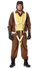 1940s Halloween Costume 1940 U0027s Fighter Pilot Costume Men U0027s Bomber Military War Costume