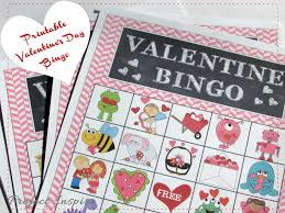 thanksgiving bingo free printable cards free valentine u0027s day bingo and treat toppers
