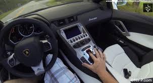 lamborghini aventador drive driving a lamborghini aventador roadster autofluence