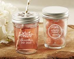 jar baby shower personalized rustic baby shower glass jar set of 12