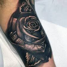 13 best black rose tattoos for men popular images on pinterest