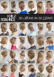 hairstyles at 30 hairromance released a new hairstyle ebook 30 buns in 30 days 33