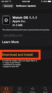 apple update how to update watchos on apple watch