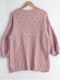 light pink cardigan sweater women casual cardigans hollow out lantern sleeve cardigan light pink