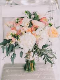 wedding flowers eucalyptus bouquets ruffled