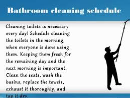Bathroom Cleaning Checklist Template Office Cleaning Schedule Interior Design