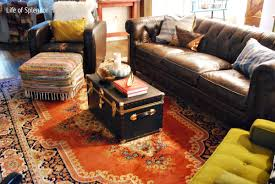 flooring storage coffee table on decorative lowes rug and brown