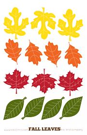 flower printable leaf shapes free printable leaf shapes