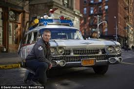 ecto 1 for sale ghostbusters fanatic spends 20 000 his own ecto 1 vehicle